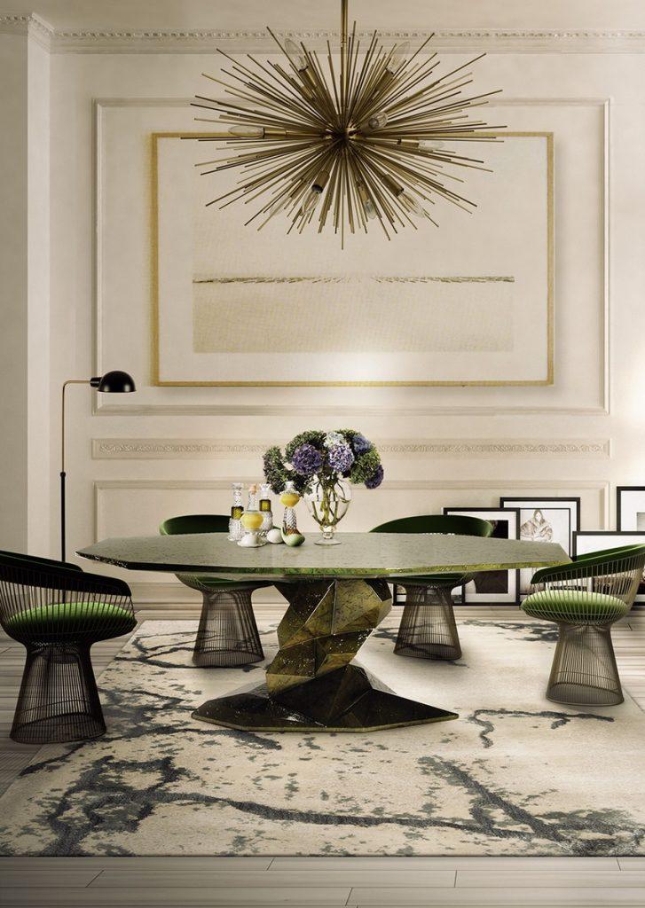 Die schönsten und luxuriösesten Stühle und Esstische stühle und esstische Die schönsten und luxuriösesten Stühle und Esstische Dining Room Boca do Lobo 01