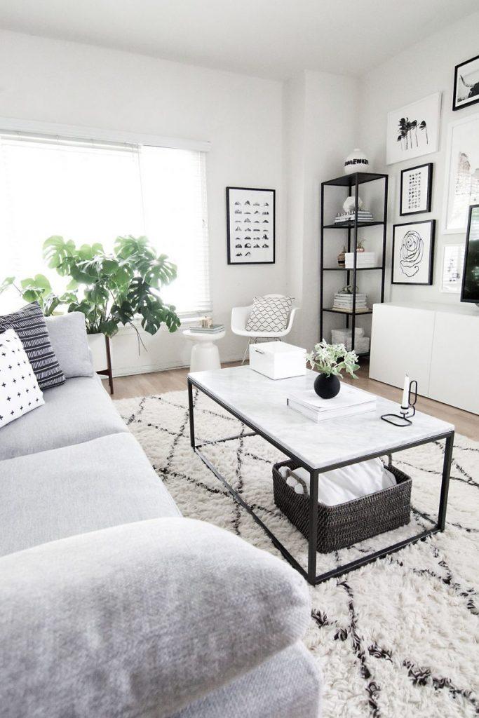 Welches Wohndesign Stil sind Sie? wohndesign stil Welches Wohndesign Stil sind Sie? Monochrome living room e1486572887487