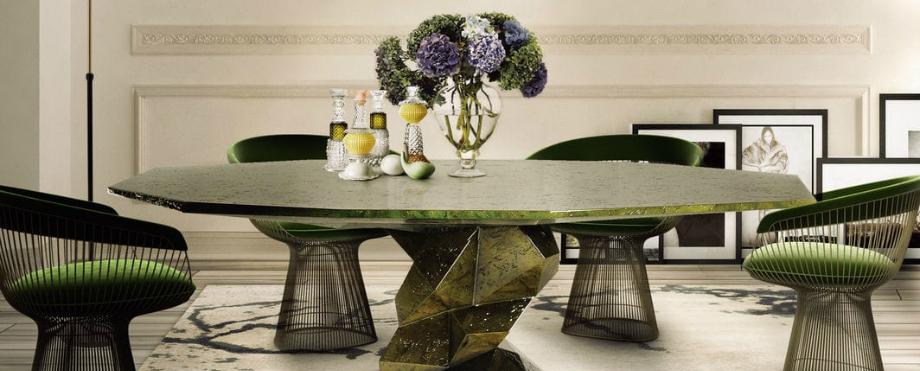 Die schönsten und luxuriösesten Stühle und Esstische