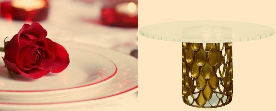 6 romantische esszimmer dekoration f r valentinstag wohn. Black Bedroom Furniture Sets. Home Design Ideas