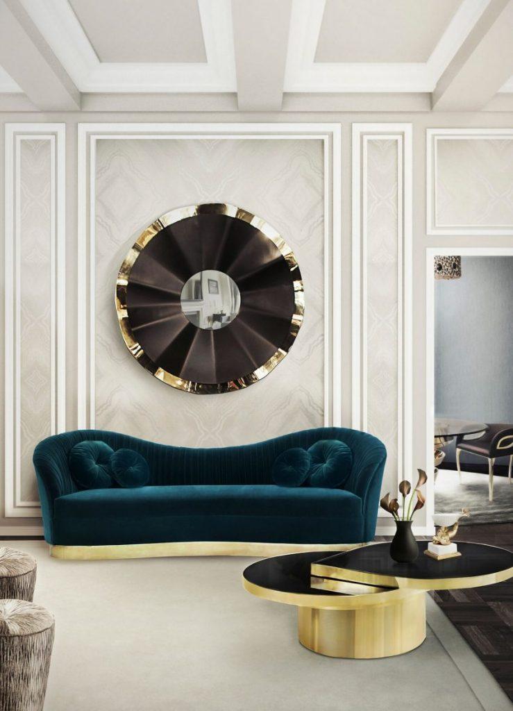 2017 Wohnzimmer Frühling Möbel Trends: 10 Samt Sofa Ideen Wohnzimmer Wie Sie das Ostern Gefühl in Ihrem Wohnzimmer ausdrücken können cc e1486044975647
