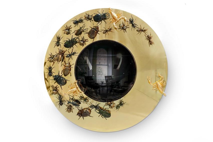 Spiegel Spiegel, Spiegel an der Wand convex metamorphosis 01