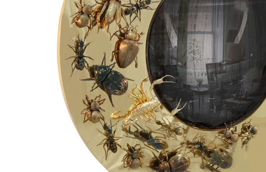 Spiegel Spiegel, Spiegel an der Wand convex metamorphosis 02