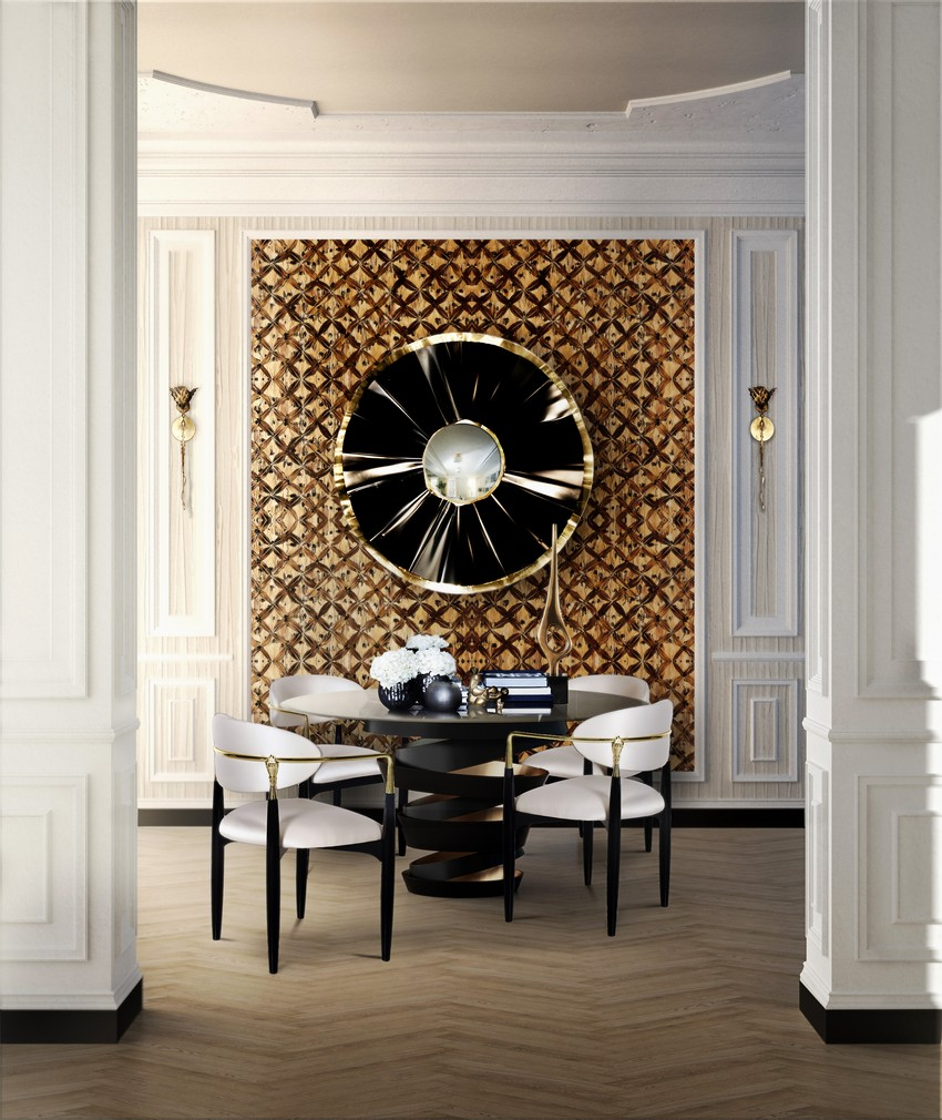 Wunderschöne Tapeten für Wohnzimmer Tapeten Wunderschöne Tapeten für eine Raffinierte Innenarchitektur nahema chair koket projects