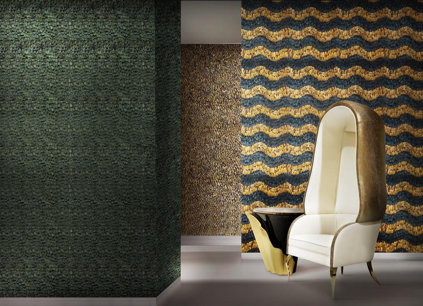 Tapeten Wunderschöne Tapeten für eine Raffinierte Innenarchitektur wallcoverings koket projects