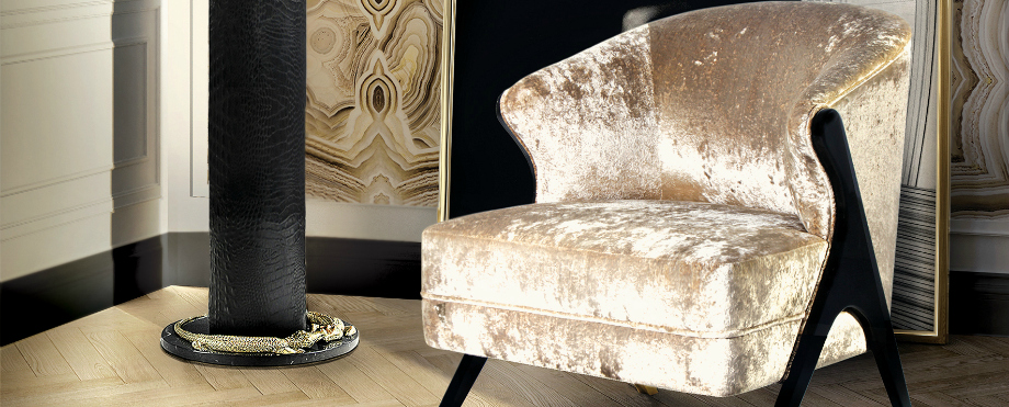 Luxus und Eleganz mit Samt Sesseln sesseln Luxus und Eleganz mit Samt Sesseln 10 Amazing Design Pieces by KOKET that will be at Maison et Objet 20174 capa
