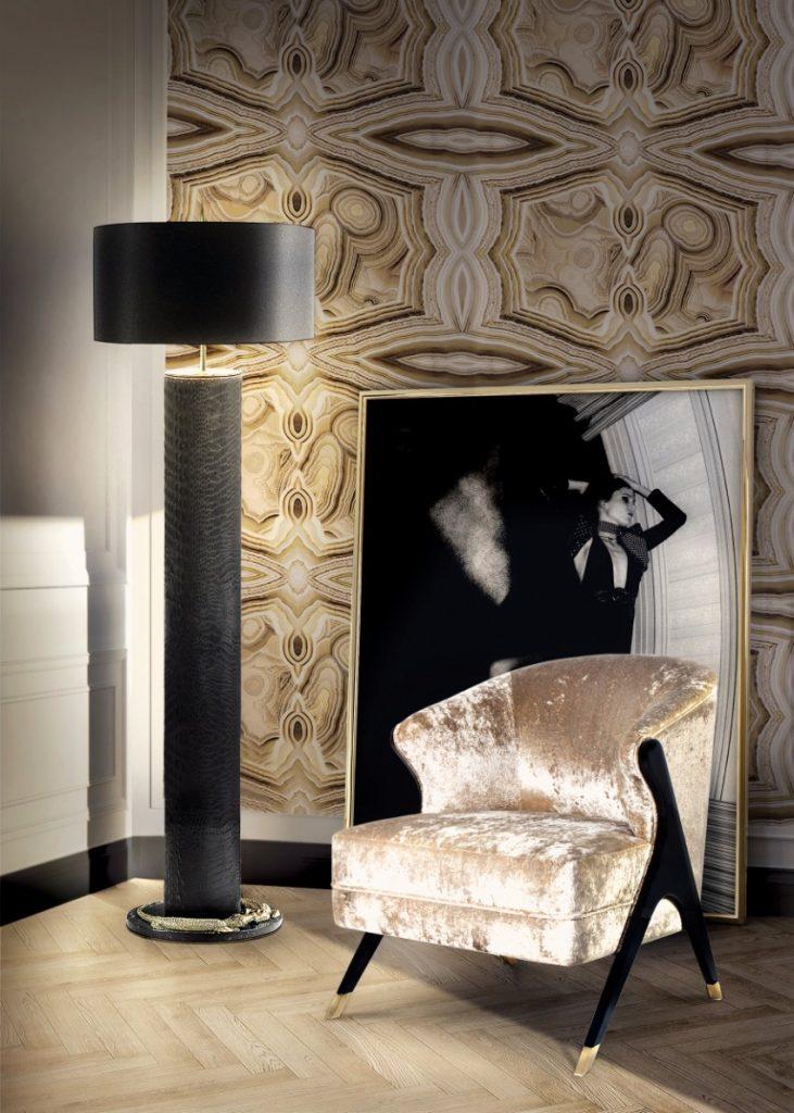 Luxus und Eleganz mit Samt Sesseln sesseln Luxus und Eleganz mit Samt Sesseln 10 Amazing Design Pieces by KOKET that will be at Maison et Objet 20174