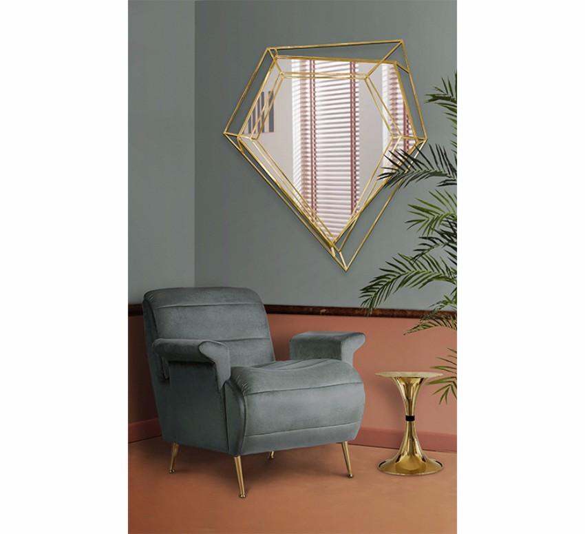 Mirrors: 25 elegante Reflexionen  spiegel Spiegel: 25 elegante Reflexionen von atemberaubender Innenarchitektur Achieve the mid century living room of your dreams 11 3
