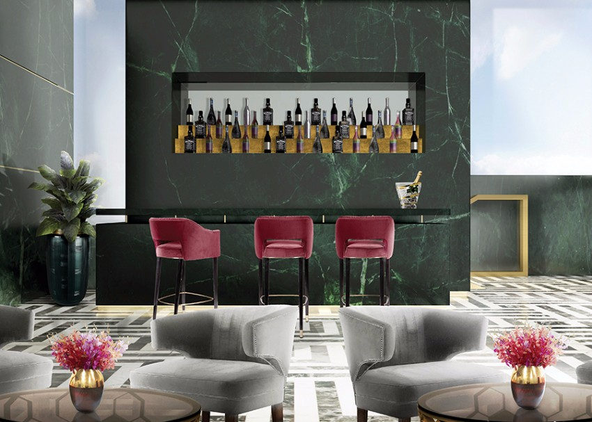 Luxus und Eleganz mit Samt Sesseln sesseln Luxus und Eleganz mit Samt Sesseln Bar Brabbu 06