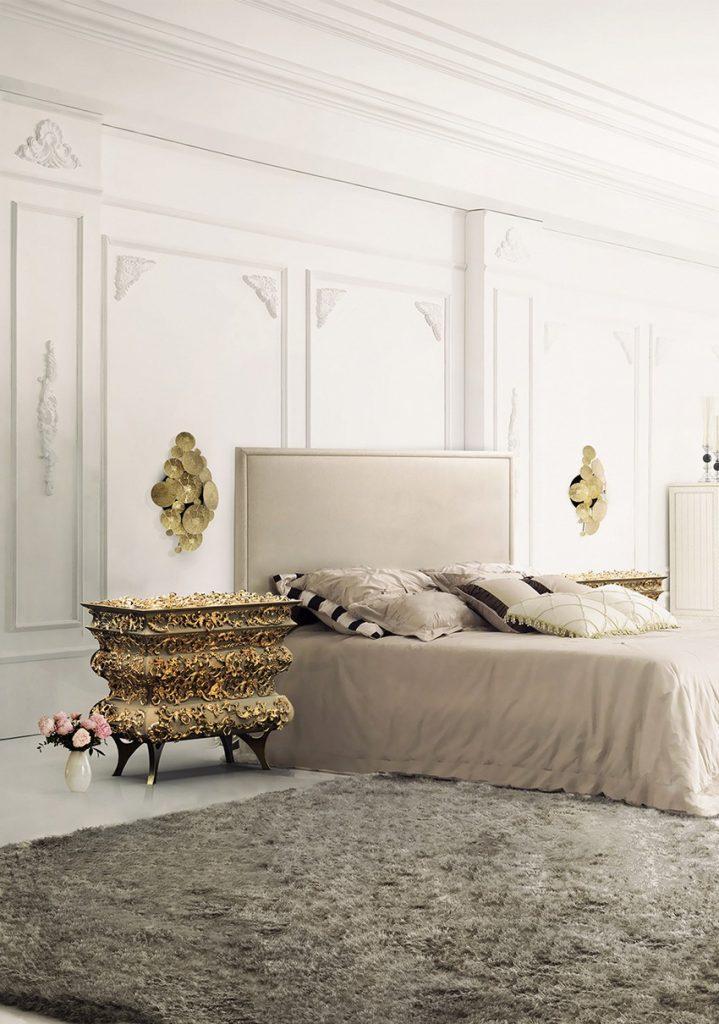 Schlafzimmer Design: Top-Ideen für hochwertige Träume schlafzimmer design Schlafzimmer Design: Top-Ideen für hochwertige Träume Bedroom Boca do Lobo 01 1