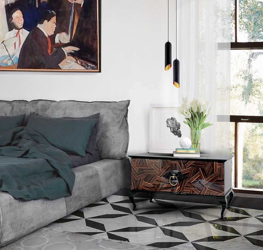 Top-Ideen für hochwertige Träume schlafzimmer design Schlafzimmer Design: Top-Ideen für hochwertige Träume Bedroom Boca do Lobo 04 1