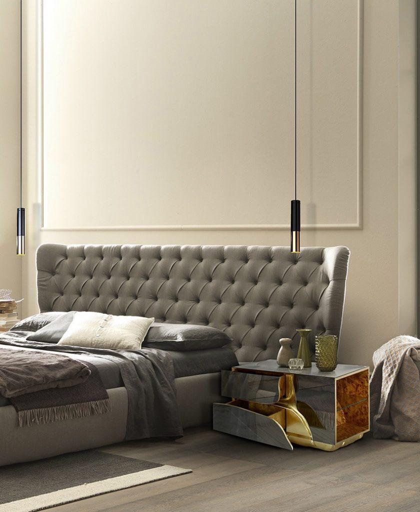design inspirationen, schöner wohnen, luxus, teuer, möbel, innenarchitektur, inneneinrichtung, wohn-designtrend, wohnideen, wohndesign schlafzimmer design Schlafzimmer Design: Top-Ideen für hochwertige Träume Bedroom Boca do Lobo 09