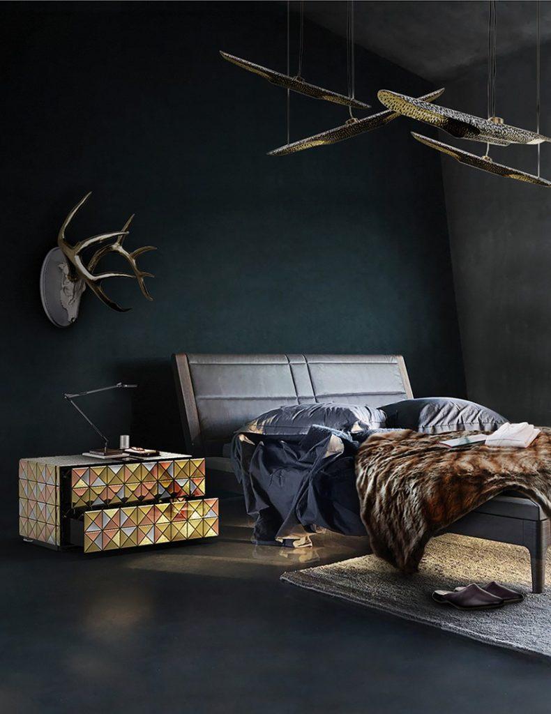 design inspirationen, schöner wohnen, luxus, teuer, möbel, innenarchitektur, inneneinrichtung, wohn-designtrend, wohnideen, wohndesign schlafzimmer design Schlafzimmer Design: Top-Ideen für hochwertige Träume Bedroom Boca do Lobo 11