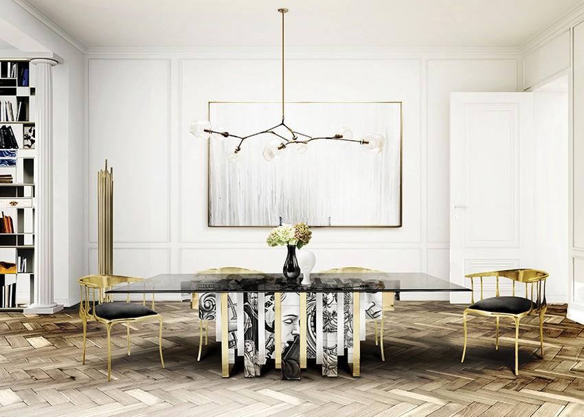Planen Sie ein majestätisches Osterfest in einem Luxuriöses Esszimmer osterfest Planen Sie ein majestätisches Osterfest in einem Luxuriöses Esszimmer Dining Room Boca do Lobo 02 1