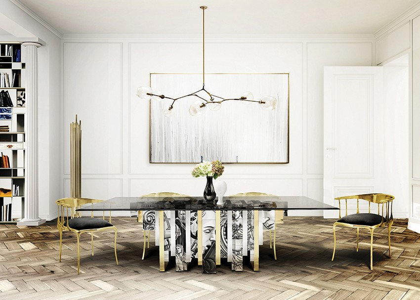 Originale Stühle für den modernesten Ostern Esstisch Dekor Originale Stühle Originale Stühle für den modernesten Ostern Esstisch Dekor Dining Room Boca do Lobo 02 2