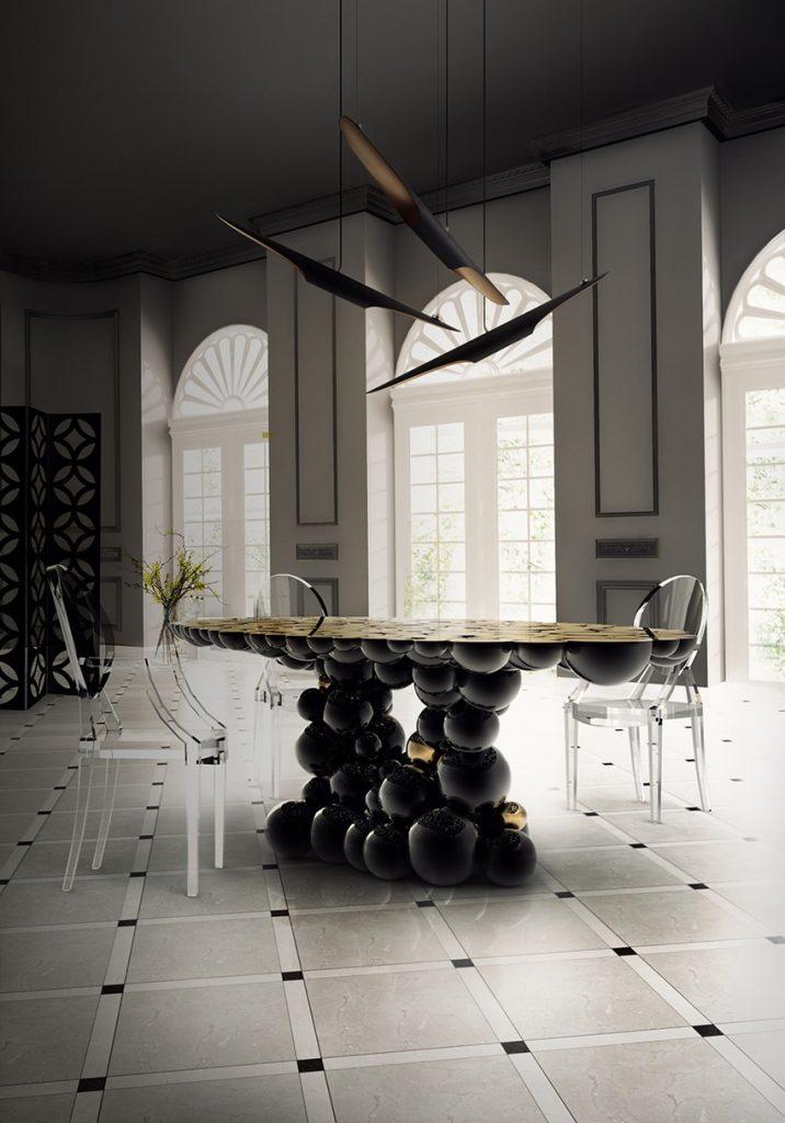 Planen Sie ein majestätisches Osterfest in einem Luxuriöses Esszimmer osterfest Planen Sie ein majestätisches Osterfest in einem Luxuriöses Esszimmer Dining Room Boca do Lobo 05