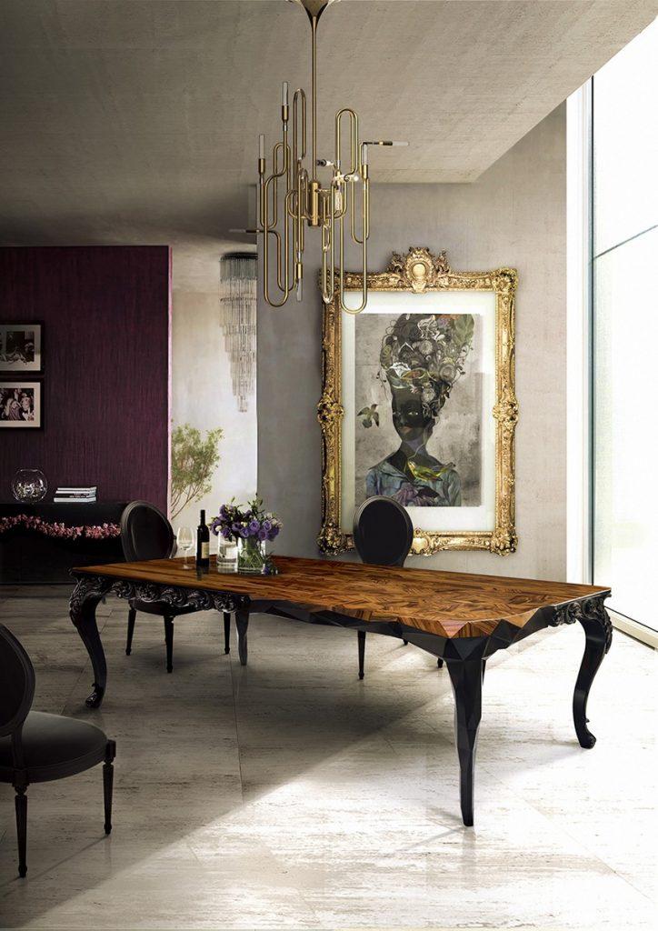 Planen Sie ein majestätisches Osterfest in einem Luxuriöses Esszimmer osterfest Planen Sie ein majestätisches Osterfest in einem Luxuriöses Esszimmer Dining Room Boca do Lobo 06