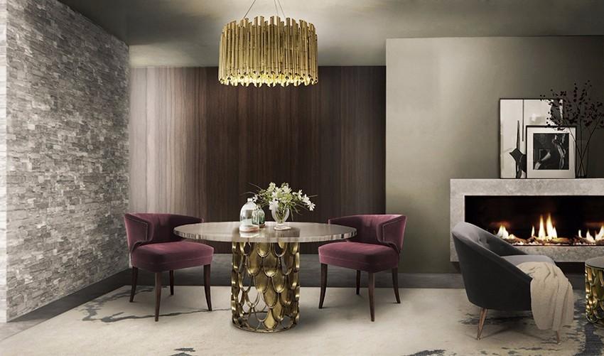 Luxus und Eleganz mit Samt Sesseln sesseln Luxus und Eleganz mit Samt Sesseln Dining Room Brabbu 03 1