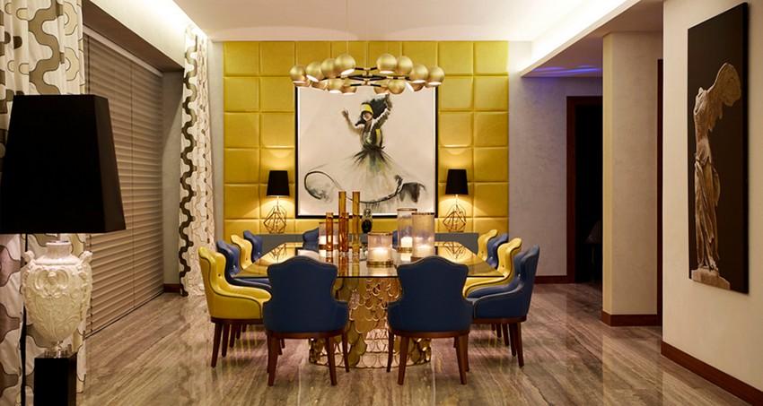 Originale st hle f r den modernesten ostern esstisch dekor for Stanza da pranzo moderna