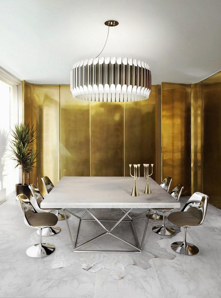 Originale Stühle Originale Stühle für den modernesten Ostern Esstisch Dekor Dining Room Delightfull 07 1