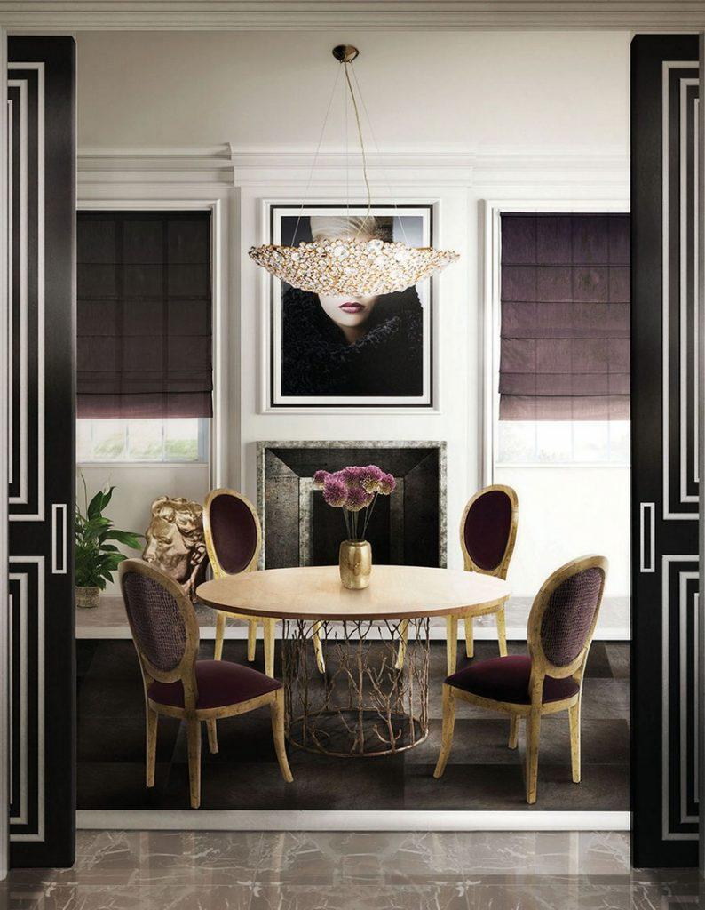 osterfest Planen Sie ein majestätisches Osterfest in einem Luxuriöses Esszimmer Dining Room Koket 01