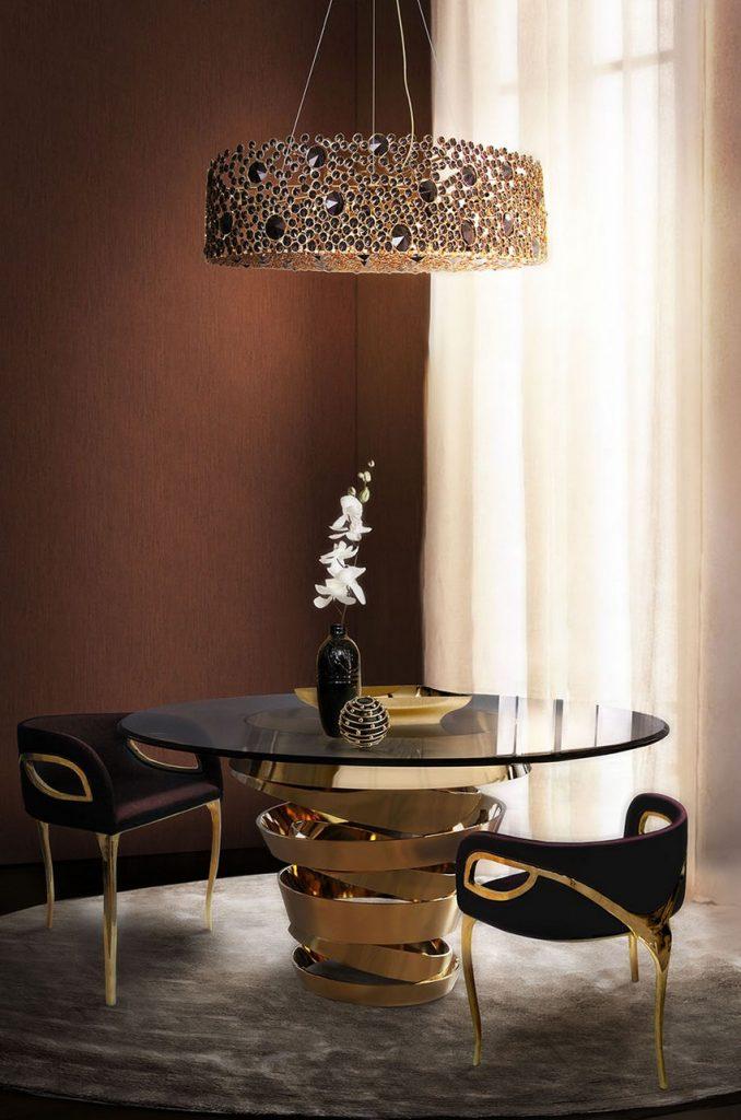 osterfest Planen Sie ein majestätisches Osterfest in einem Luxuriöses Esszimmer Dining Room Koket 02