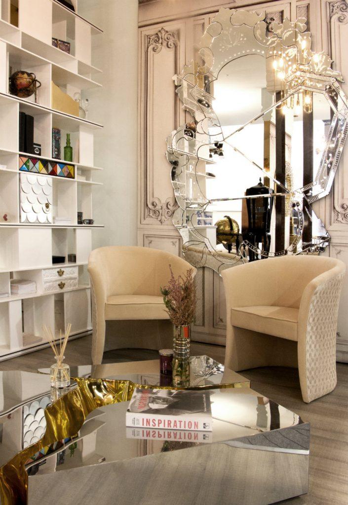 Die modernste Beistell - und Couchtische auf der Isaloni Designmesse couchtische Die modernste Beistell - und Couchtische auf der Isaloni Designmesse MaisonObjet Paris 01