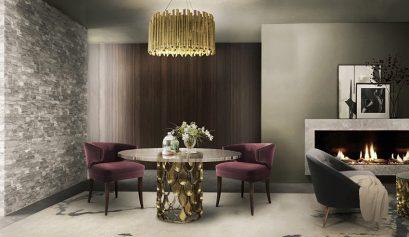 25 erstaunliche Inspirationen Luxus, Möbel, wohndesign, wohnideen, design inspirationen, schöner wohnen, innenarchitektur, inneneinrichtung, wohndesigntrend, teuer,dekorationsideen Esszimmer 25 erstaunliche Esszimmer Inspirationen brabbu koidiningtable 409x237