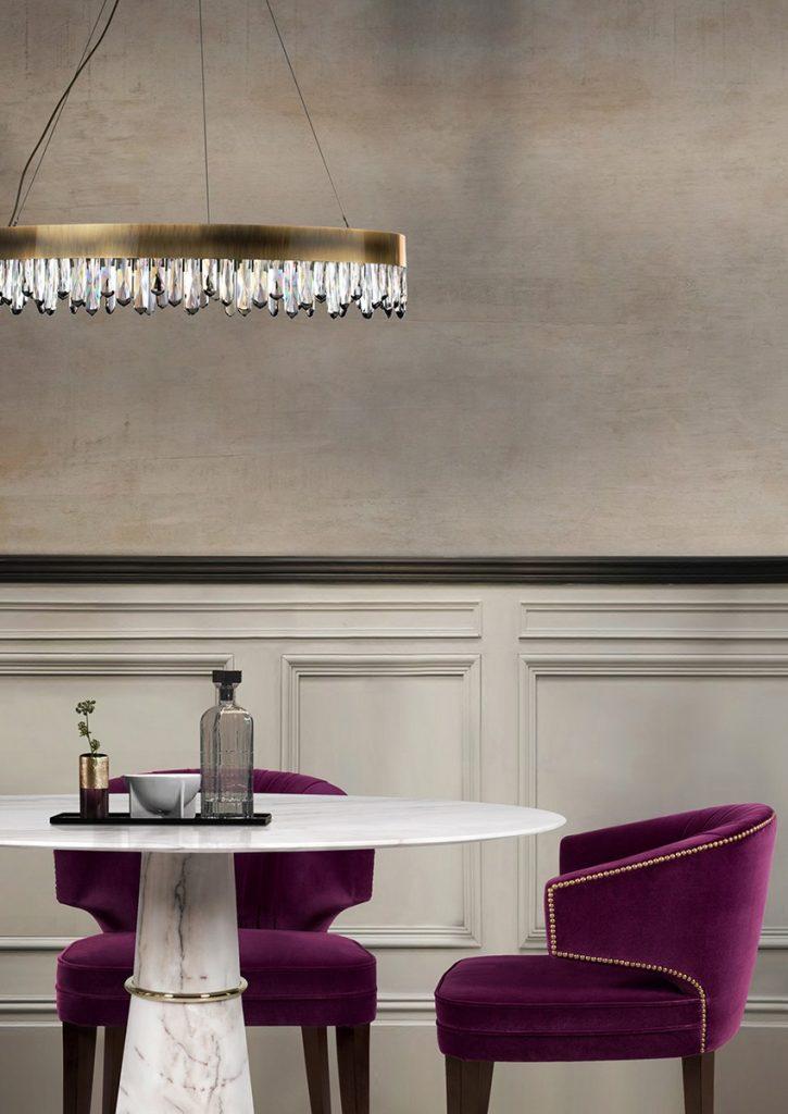 25 erstaunliche Inspirationen Luxus, Möbel, wohndesign, wohnideen, design inspirationen, schöner wohnen, innenarchitektur, inneneinrichtung, wohndesigntrend, teuer,dekorationsideen Esszimmer 25 erstaunliche Esszimmer Inspirationen brabbu naiccasuspensionlamp 1