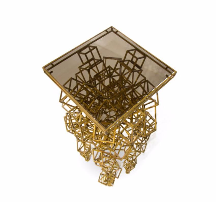 Entdecken Sie Luxus Stücke in iSaloni 2017  isaloni 2017 Entdecken Sie Luxus Stücke in iSaloni 2017 cygnus modern signature art geometric display 3