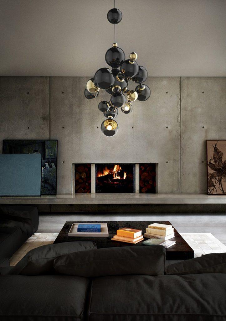 Hängeleuchten Luxus Hängeleuchten für Exklusive Design delightfull atomic sputnik multi light sculptural sphere pendant chandelier 01 2