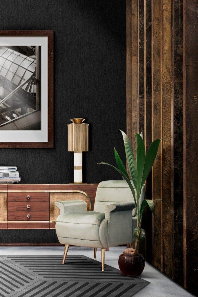 Luxus und Eleganz mit Samt Sesseln sesseln Luxus und Eleganz mit Samt Sesseln essential home bardot armchair dandy sideboard