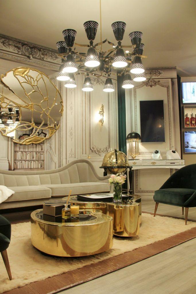 kronleuchter Kronleuchter: Einrichtungsideen zwisschen den klassiche / moderne Stil iSaloni 2015 08