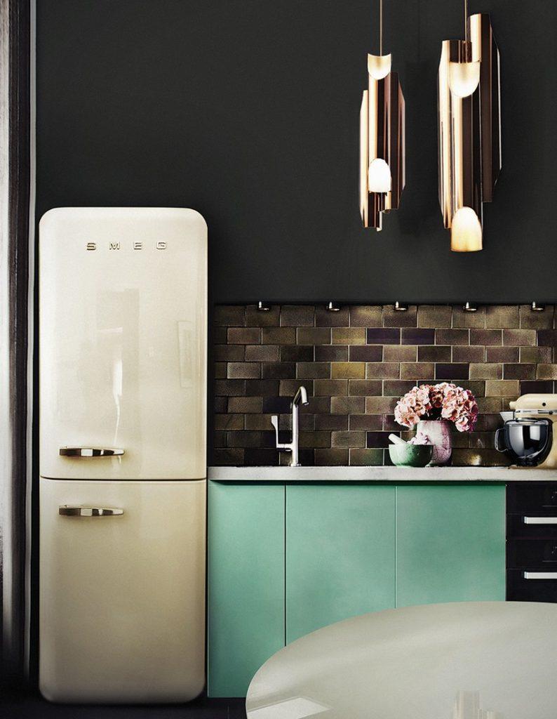 Moderne Küchen für einen zeitgenössischen Stil Moderne Küchen Moderne Küchen für einen zeitgenössischen Stil kitchen delightfull galliano suspension