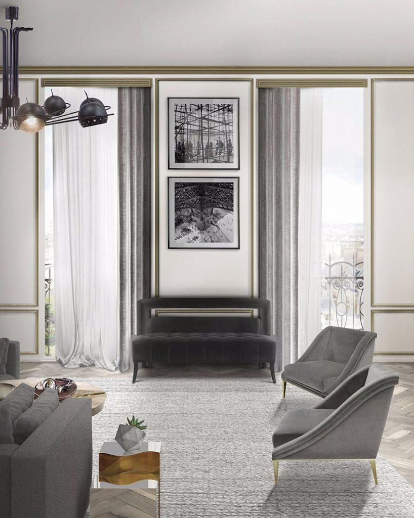 Luxus und Eleganz sesseln Luxus und Eleganz mit Samt Sesseln living room boca do lobo 1 1