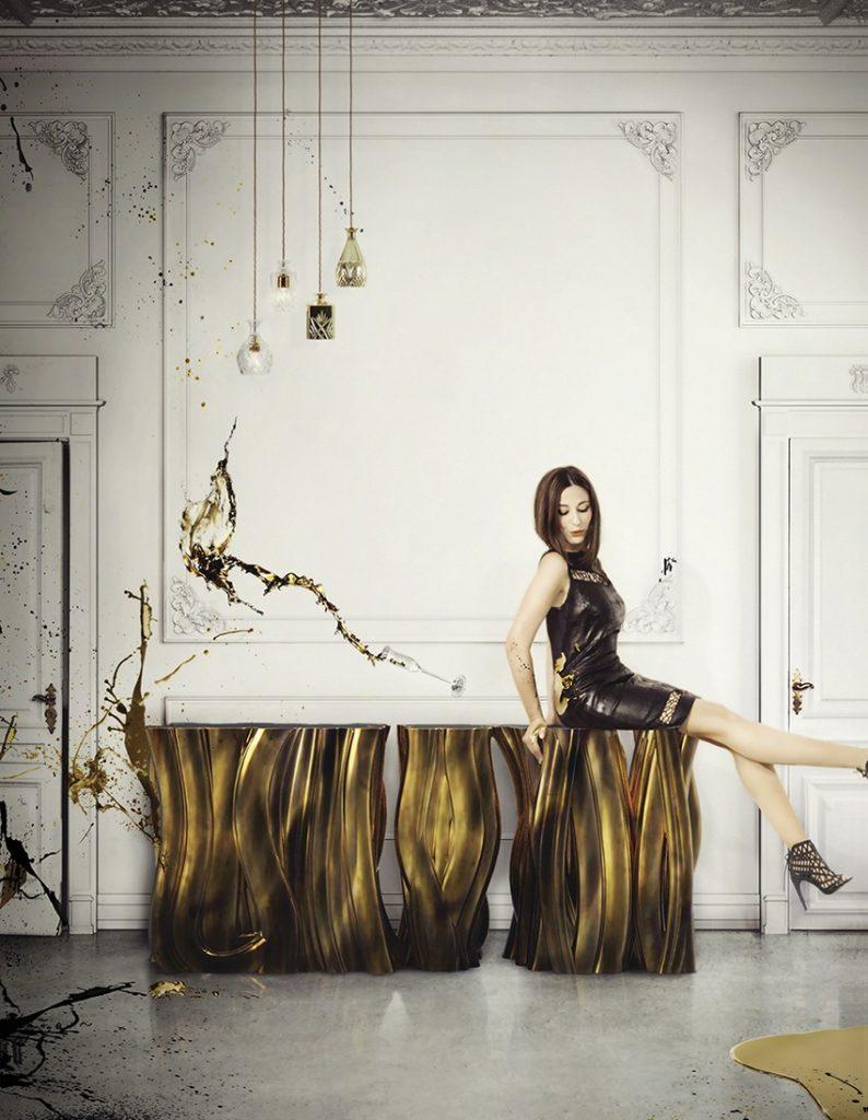 Begrüßen Sie Ihre Gäste in Stil mit erstaunlichen Lobbies Lobbies Begrüßen Sie Ihre Gäste in Stil mit erstaunlichen Lobbies lobby boca do lobo monochrome gold