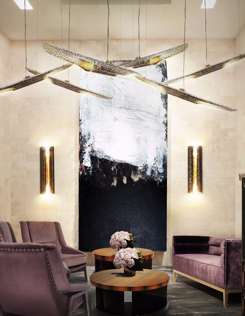 Luxus und Eleganz sesseln Luxus und Eleganz mit Samt Sesseln lobby brabbu design forces 05 1