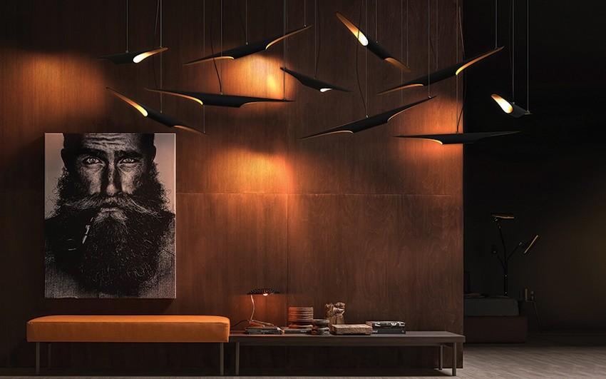 Lobbies Begrüßen Sie Ihre Gäste in Stil mit erstaunlichen Lobbies lobby delightfull unique lamps coltrane suspension