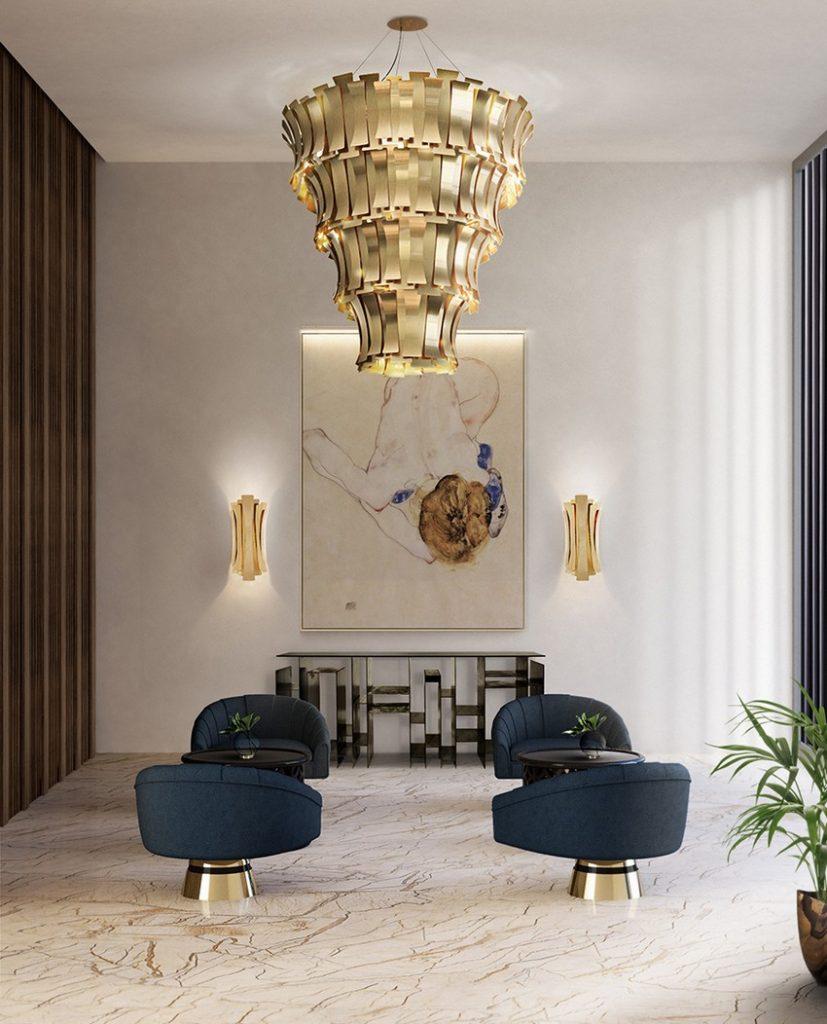 Lobbies Begrüßen Sie Ihre Gäste in Stil mit erstaunlichen Lobbies lobby delightfull unique lamps etta round 01