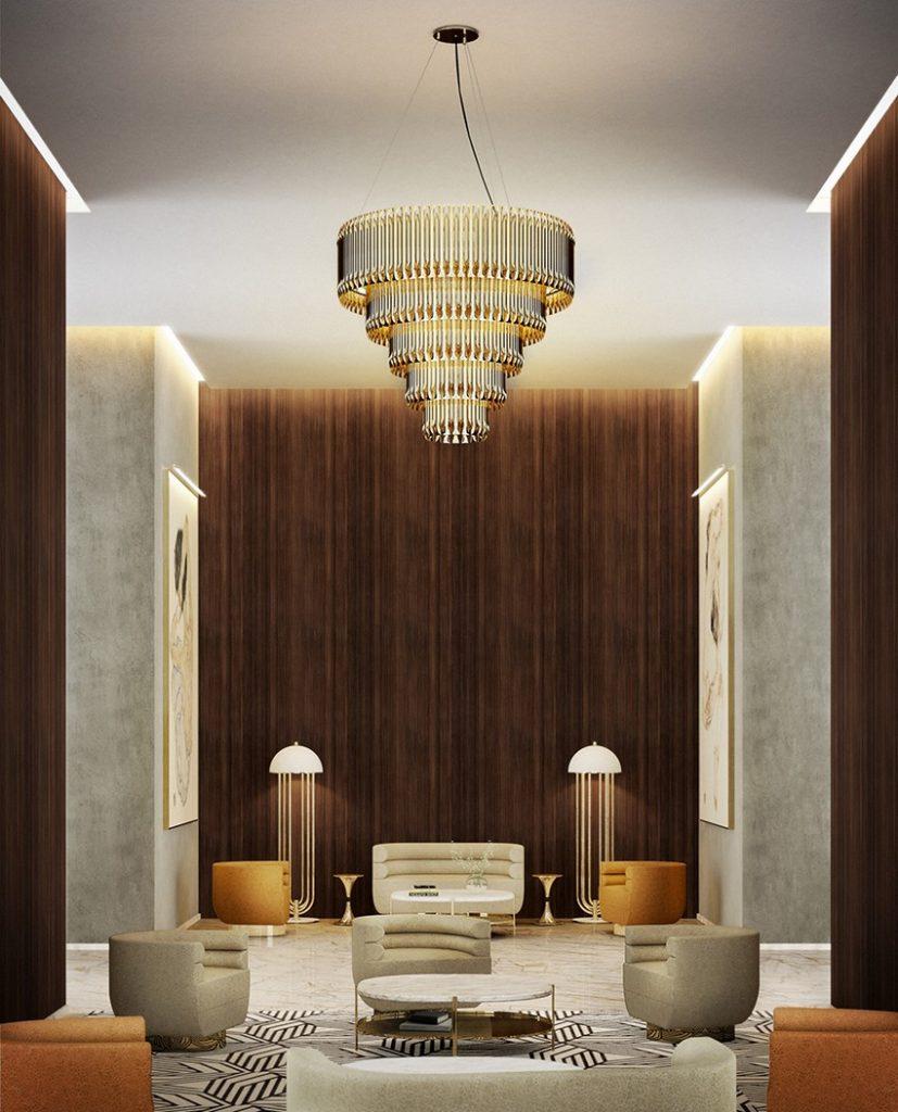 Hängeleuchten Luxus Hängeleuchten für Exklusive Design lobby delightfull unique lamps matheny chandelier 01 2