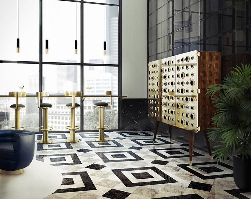 Begrüßen Sie Ihre Gäste in Stil mit erstaunlichen Lobbies Lobbies Begrüßen Sie Ihre Gäste in Stil mit erstaunlichen Lobbies lobby essential home monocles cabinet