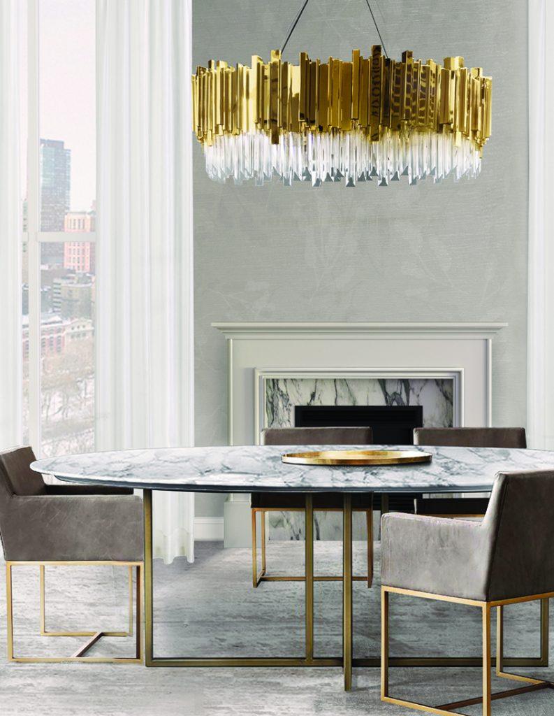 25 erstaunliche Inspirationen Esszimmer 25 erstaunliche Esszimmer Inspirationen luxxu empiresuspensionlamp