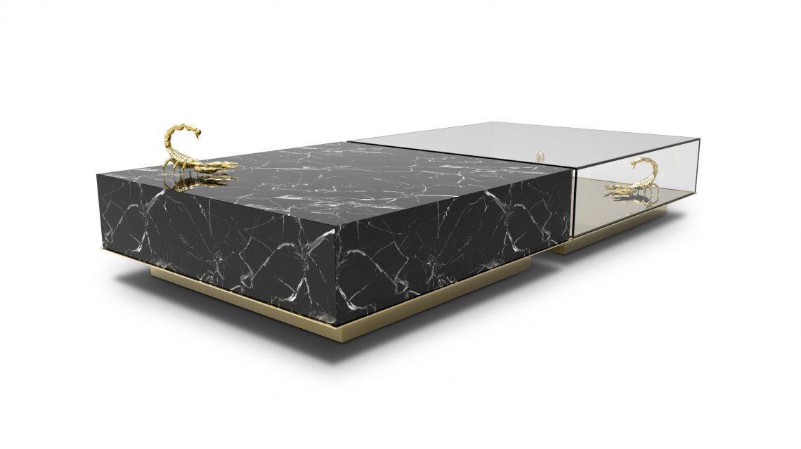 Marmor Couchtische Top 8 Marmor Couchtische und Beistelltische für Luxus Dekoration metamorphosis center table 02
