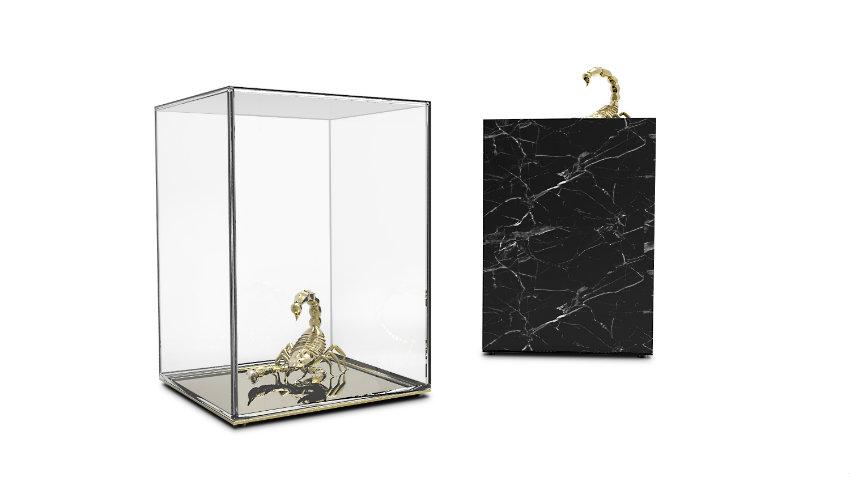 Isaloni Mailand 10 neue atemberaubende Design Möbel in Isaloni Mailand metamorphosis side table 02