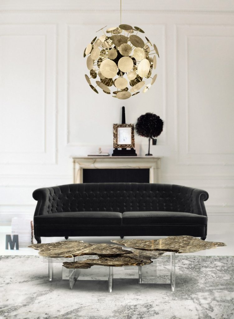 kronleuchter Kronleuchter: Einrichtungsideen zwisschen den klassiche / moderne Stil monet acrylic base center