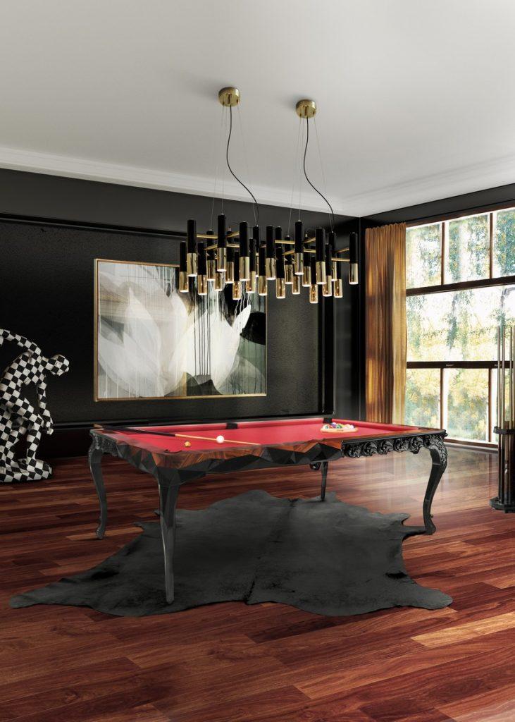 kronleuchter Kronleuchter: Einrichtungsideen zwisschen den klassiche / moderne Stil royal snooker cover 2