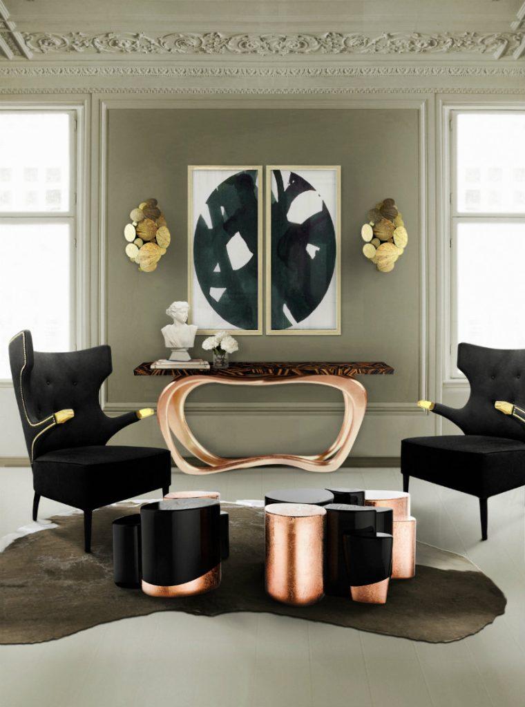 luxus konsole 50 Luxus Konsole für atemberaubende Eingangshalle – Teil II BL Living Room 30 3