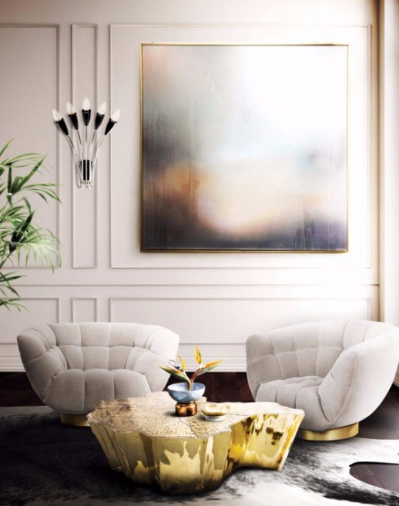 Top 50 beste Einrichtungsideen zu Luxus Wohnzimmer Dekor- Teil I  Einrichtungsideen Top 50 beste Einrichtungsideen zu Luxus Wohnzimmer Dekor- Teil I BL Project Paris Apartment 10