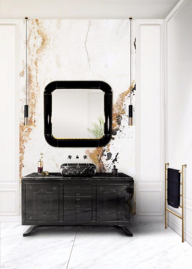 50 Schönsten Stücke für zeitlos Haus-dekor spiegel 50 Schönsten Spiegel für zeitlos Haus-dekor BL Project Paris Apartment 3