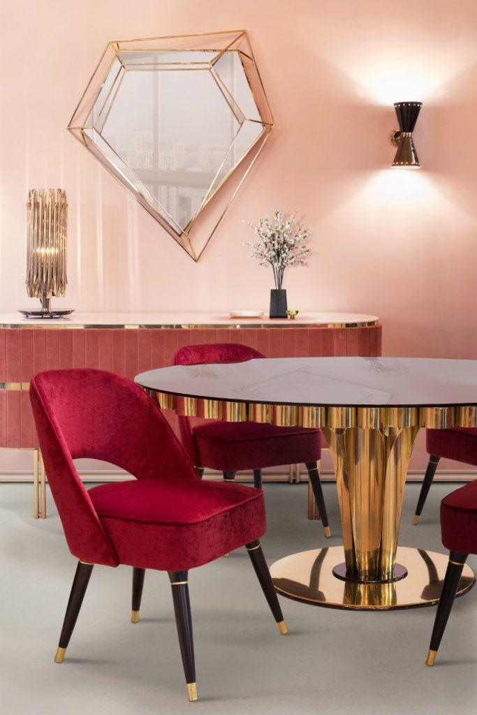 Haus-Dekor Haus-Dekor Inspirationen und Ideen mit Sommer trändige Farben EH Dining Room mar17 1